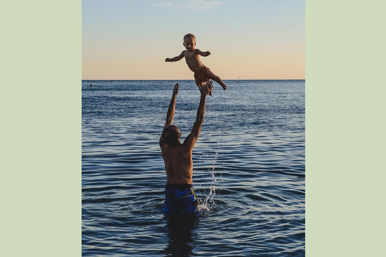 Un DaddyCool con la passione per il mare